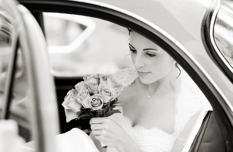 Wedding photographs at Losehill House, Derbyshire