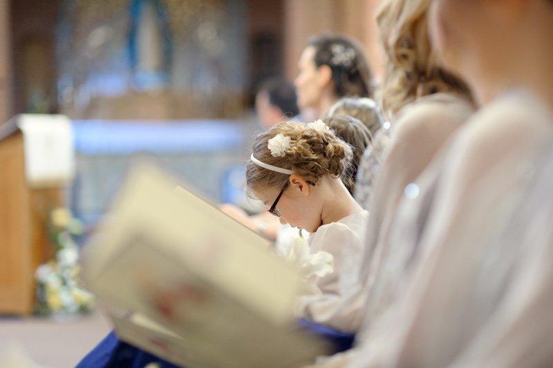 Wedding photography at Ecclesall Church, Sheffield