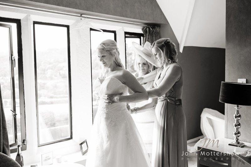 wedding photographer, The Maynard, Grindleford
