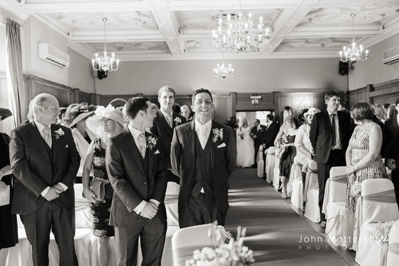 wedding photography at the Maynard, near Sheffield