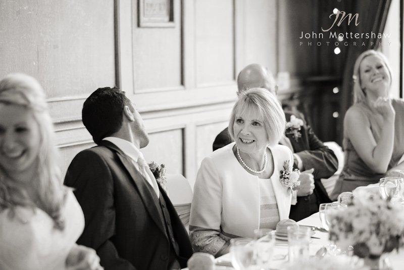 wedding guests at the Maynard, Derbyshire