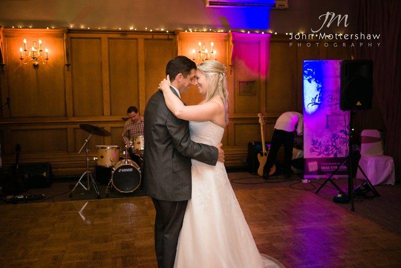 First dance at the Maynard near Sheffield