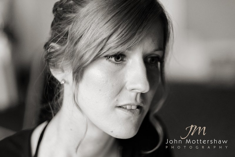 Bridal portrait by wedding photographers sheffield.