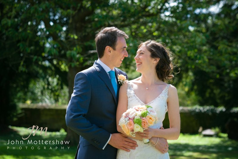 Wedding photographer in South Derbyshire, St Alkmund's Church in Duffield