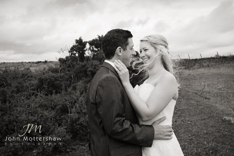 wedding photography portrait in the Peak District