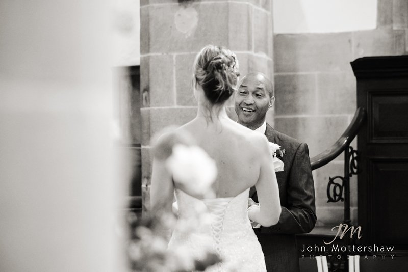 saying the vows, Peak District Wedding Photographer