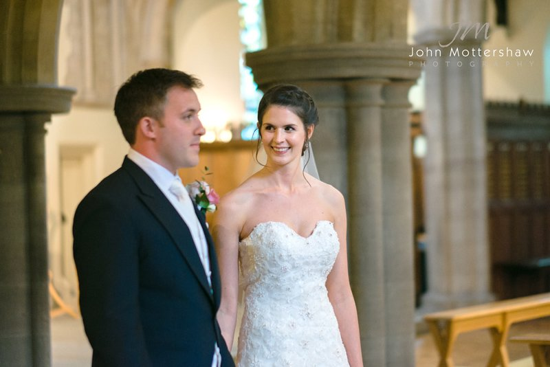wedding photographer at Hassop Hall