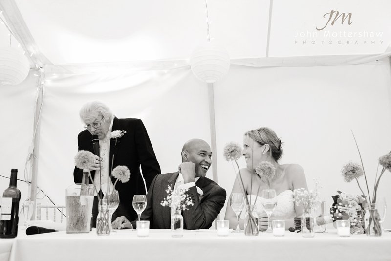 Peak District Wedding Photographer, the speeches